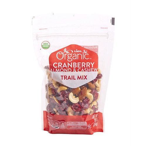 Organic Trail Mix Cranberry Almond & Cashew 10oz