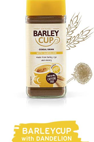 Barley Cup Cereal Drink with Dandelion