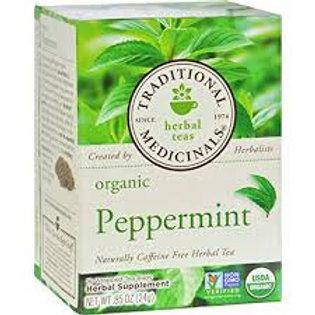 Traditional Medicinal Organic Herbal Tea Peppermint 16bags