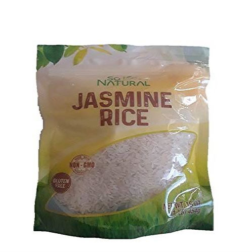 So Natural Gluten free Jasmine Rice 1lb