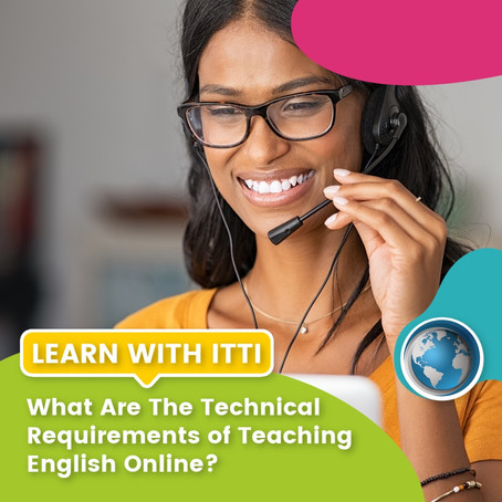 What are the Technical Requirements of Teaching English Online?