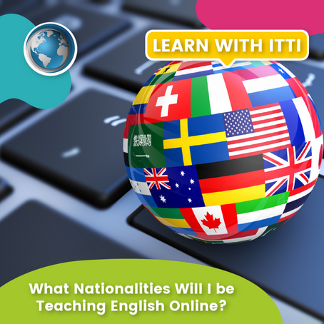 What Nationalities Will I be Teaching English Online?
