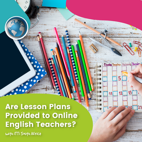 Are Lesson Plans Provided to Online English Teachers?