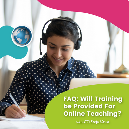 FAQ: Will Training be Provided For Online Teaching?