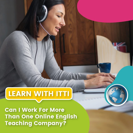 Can I Work for More Than One Online English Teaching Company?