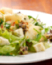 baby-greens-pear-walnut-and-blue-cheese-