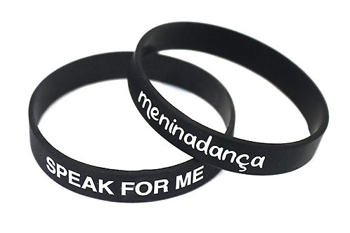 SPEAK FOR ME Wristband