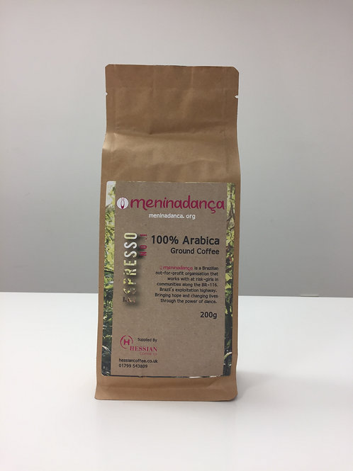 12 Bags Meninadança Ground Coffee Beans