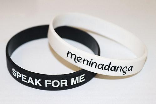 'SPEAK FOR ME' Wristband Pack