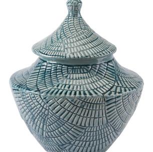 Escalera Covered Jar Mint
