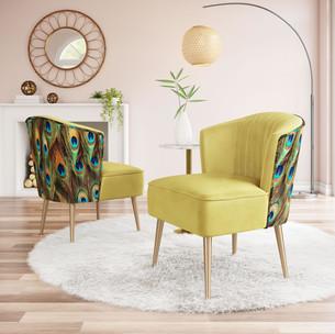 Tabitha Accent Chair Green