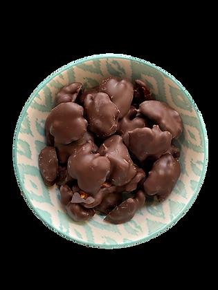 Cerneaux de Noix du Périgord BIO enrobées de chocolat noir - VRAC