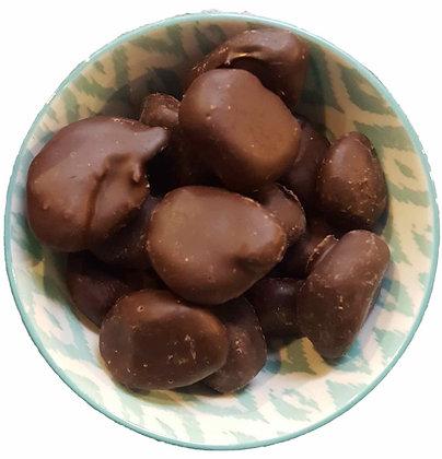 Pruneaux BIO enrobés de chocolat noir - VRAC