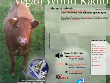 Vegan World Radio Interview