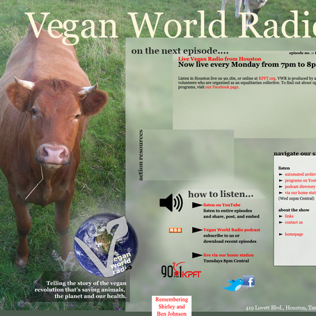 Vegan World Radio Interview