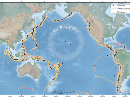 """Curio:  The Pacific """"Ring of Fire"""""""