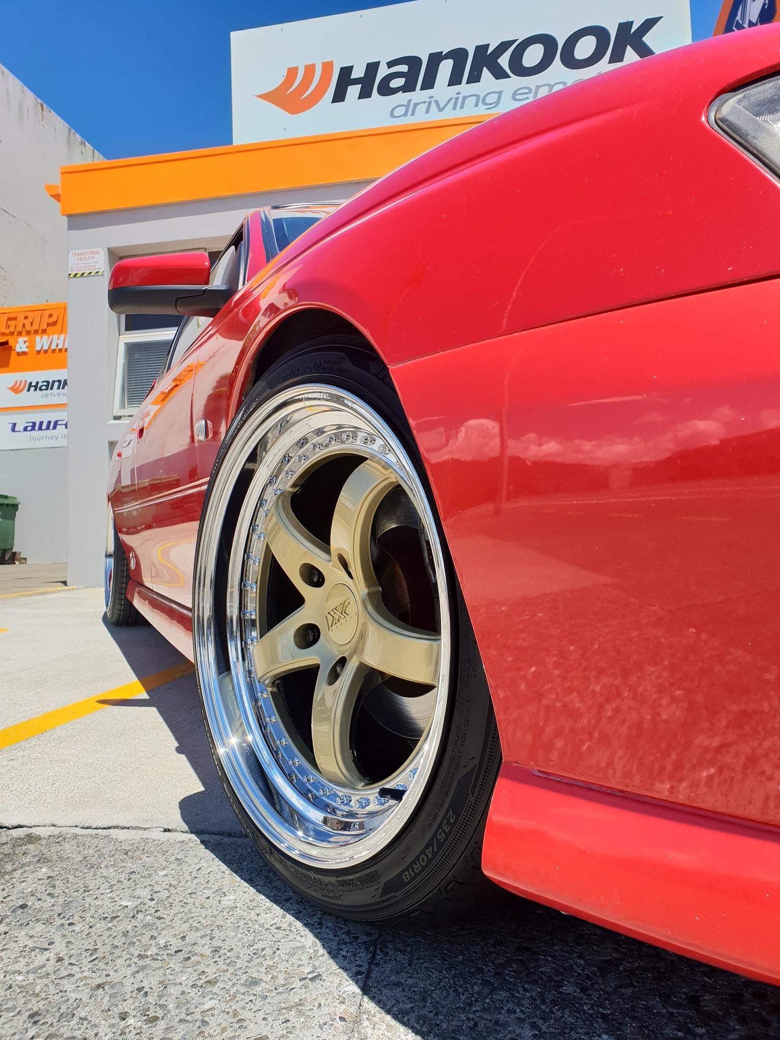 Holden with XXR Wheels