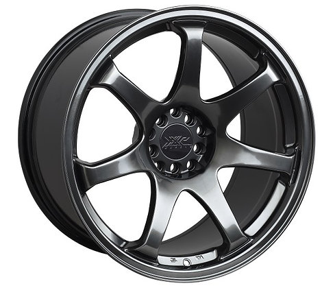 XXR 551 Chrome Black