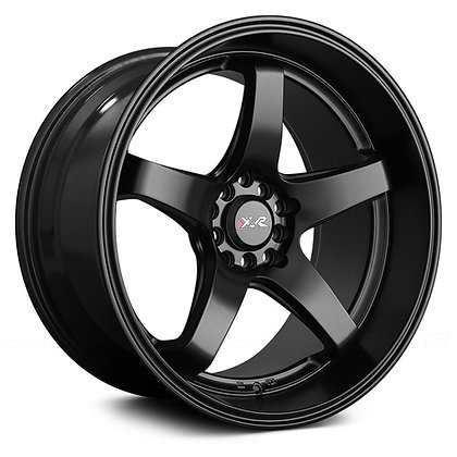 XXR 555 Matt Black