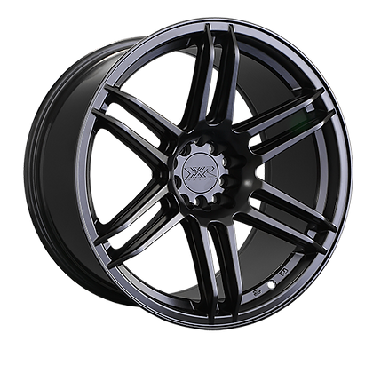 XXR 558 Matt Black