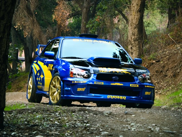 Subaru STI XXR 518