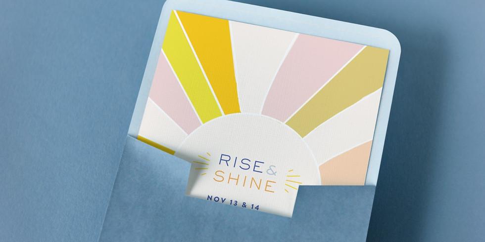 Rise & Shine Regular Ticket