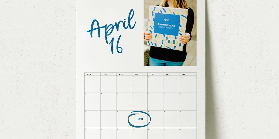 Banner Year Blueprint - Online April 16