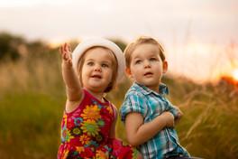 Cassandra et son frère Marty