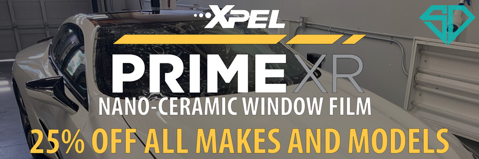 XPEL Prime Window Tinting