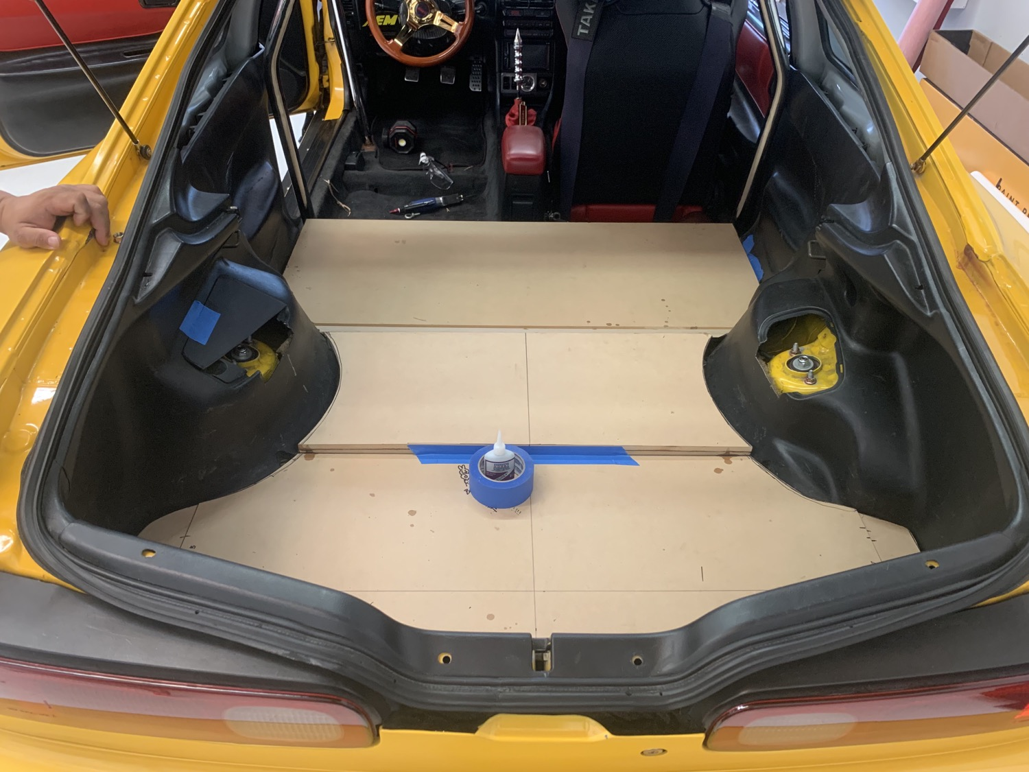 Custom Trunk W/ Back Seat Delete