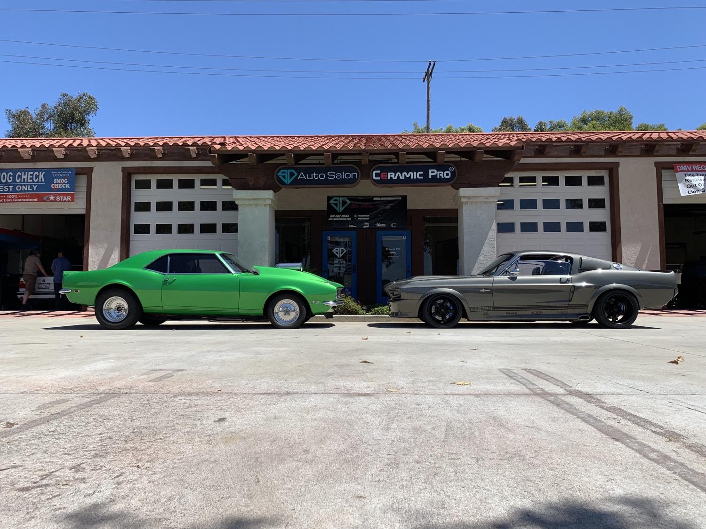 68 Camaro VS 67 Mustang