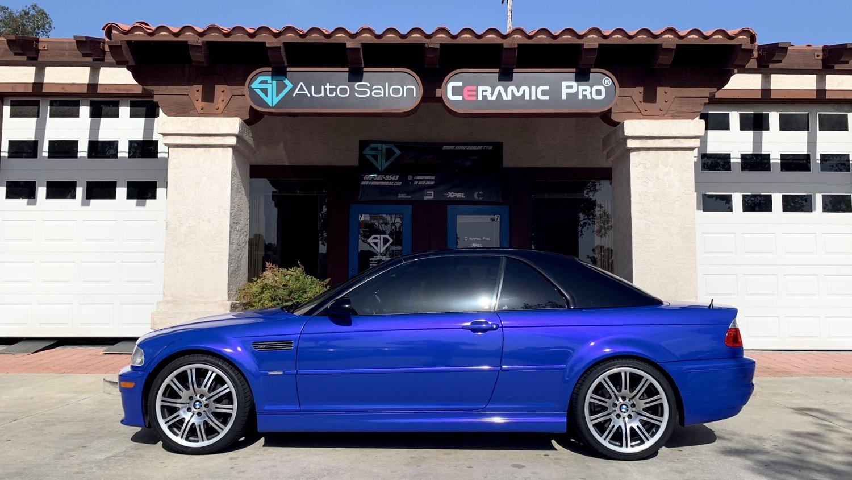 BMW M3 E46 Color Change