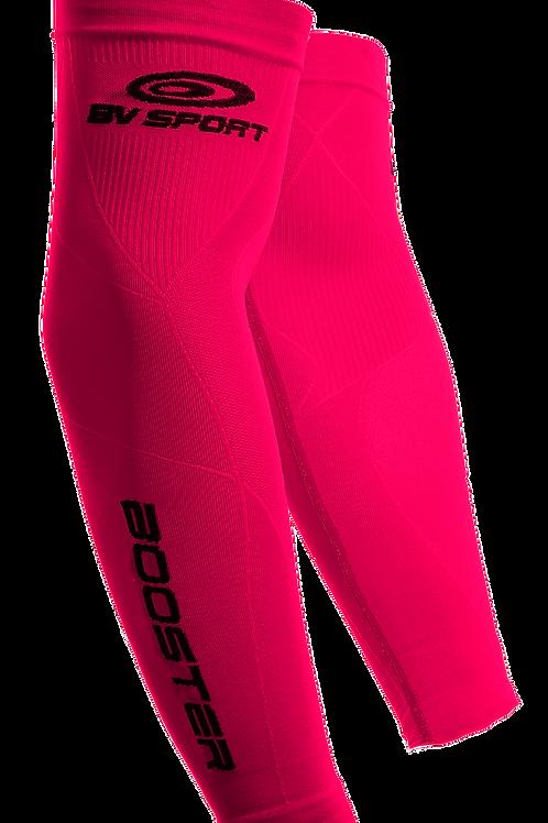 BV Sport manicotti compressione colore fuxia
