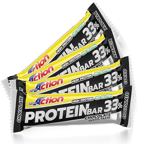 Proaction Protein bar 33% COCCO