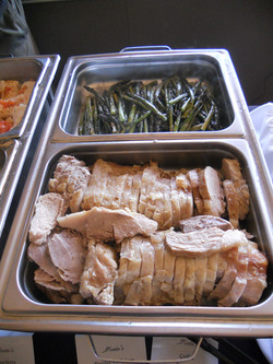 Buffet Line 7(Asparagus & Roasted Turkey)