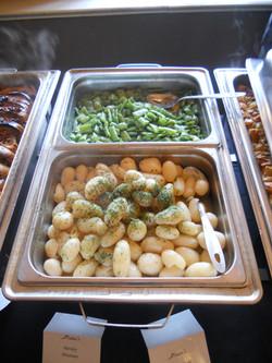 Buffet Line 2(Green Beans & Parslet Potatoes)