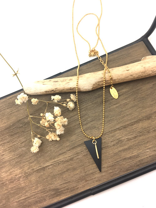 Shadow - collier mini triangle