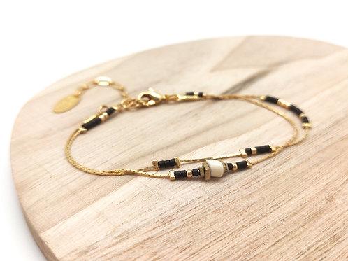Bracelet deux tours