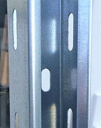 Перфорированный кабельный лоток 50 мм, предварительная оцинковка