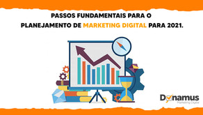 Plano de marketing para 2021. Passos vitais!