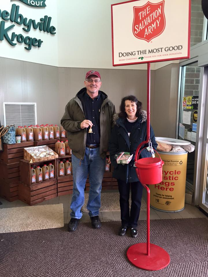 Salvation Army Bell Ringing-Outreach