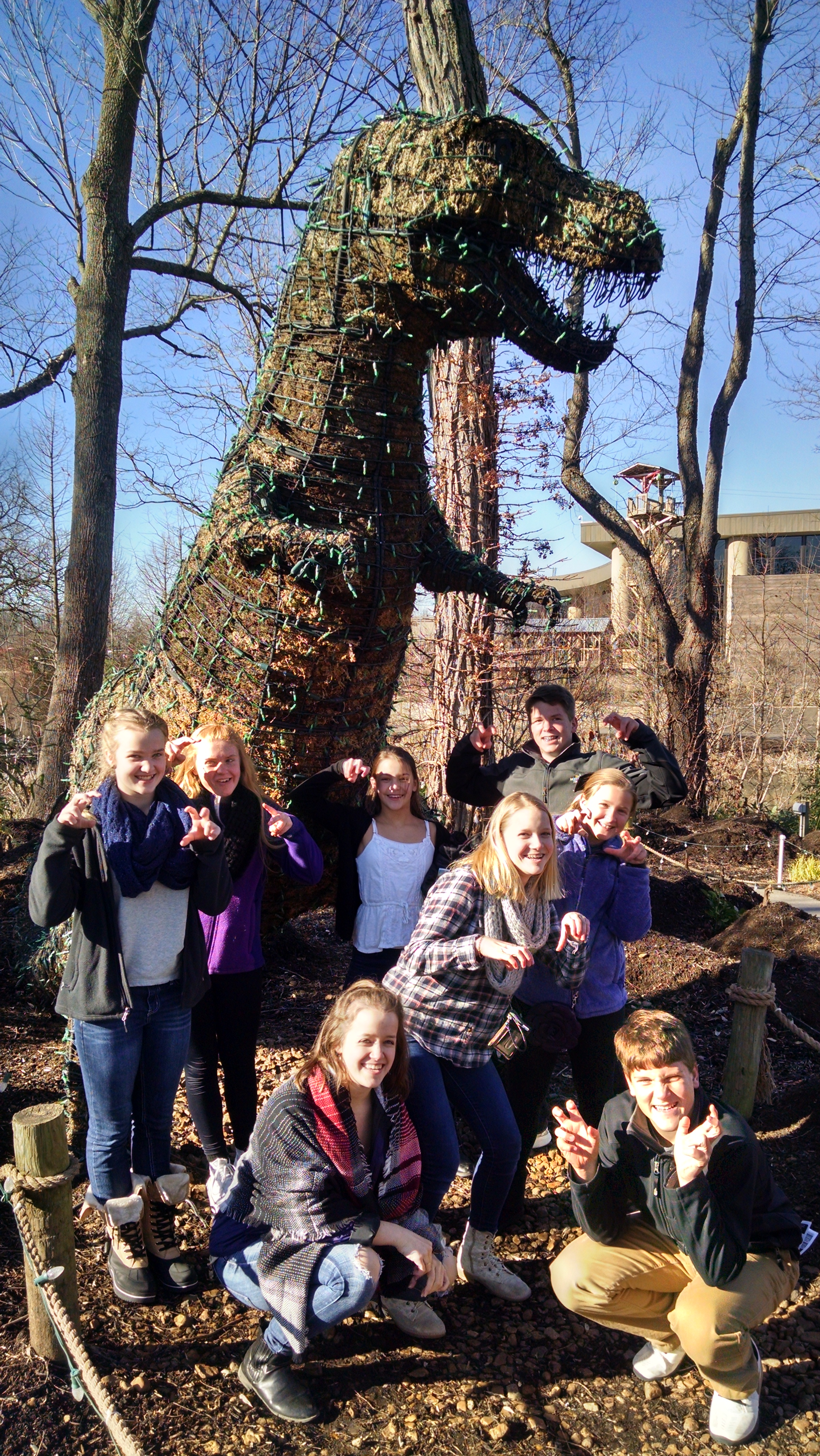 Youth Group at Creation Museum