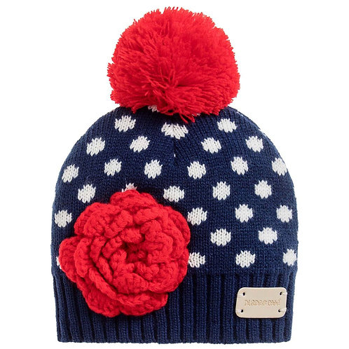 Blade and Rose Navy Spot Bobble