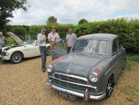 Our 'Cars and Bikes with Character' meetings continue to be a big draw