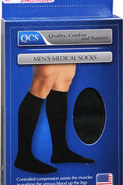 SOCK MEN MLD 10-15 SS BLACK S/M
