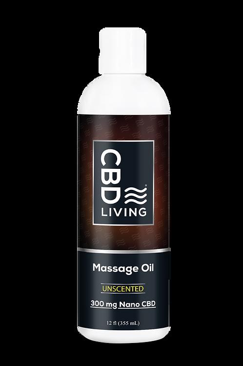 CBD Massage Oil- 300mg (16oz)