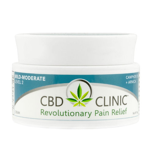 CBD CLINIC LEVEL 2 – MILD TO MODERATE PAIN RELIEF