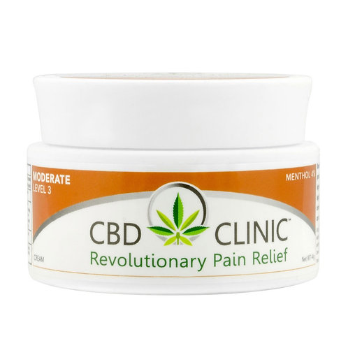 CBD CLINIC LEVEL 3 - MODERATE MUSCLE AND JOINT PAIN RELIEF