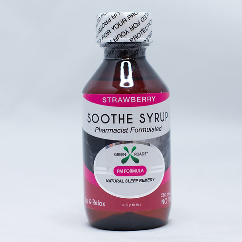Soothe Syrup Strawberry