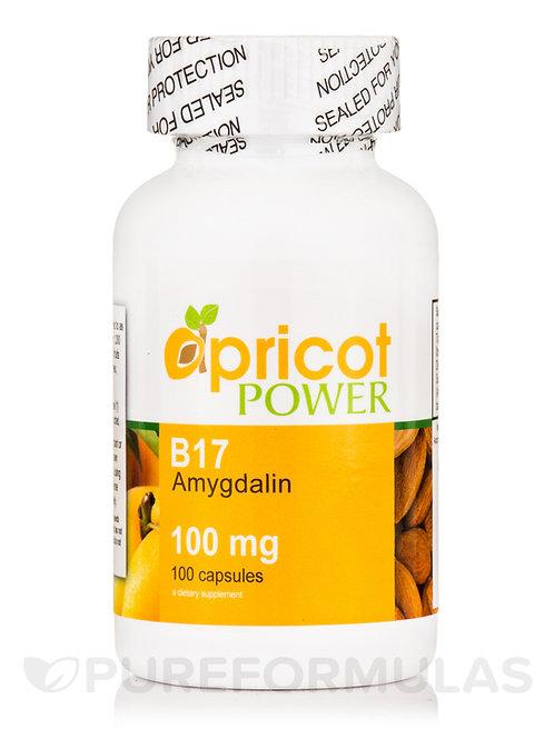 Apricot Power B17/Amygdalin 100mg Capsules